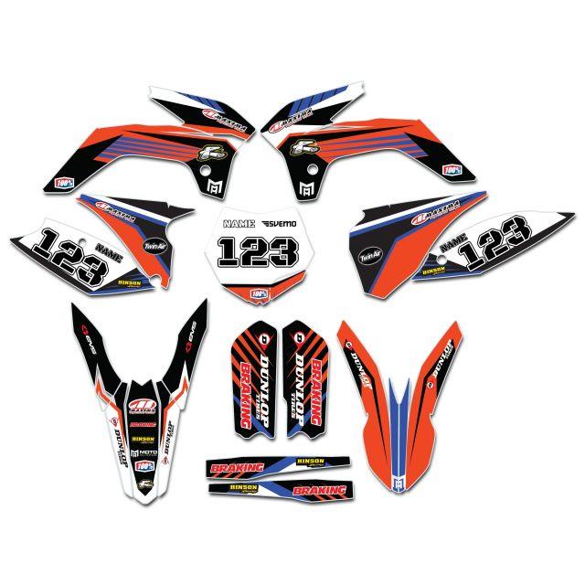 Dekalkitt Komplett KTM Standard Logo Motoaction