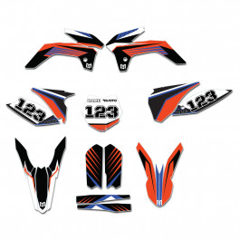 Dekalkitt Komplett KTM Standard Motoaction