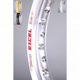 Fälg EXCEL 18x2 15 36H silver. Special HVA