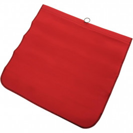 FLAG COTTON RED 18 X18