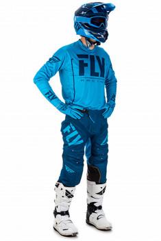 FLY Crosskläder Lite Hydrogen 2018 Blå/Navy