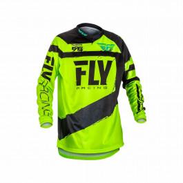 FLY Crosströja F-16 2018 Svart/Hiviz/Gul