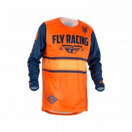 FLY Crosströja KINETIC 2018 Orange/Navy