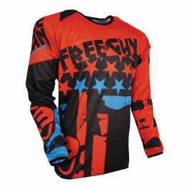 Freegun Crosströja BARN USA 2018 Neon/Orange/Blå
