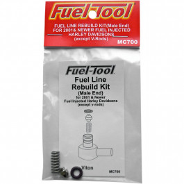 FUELINE REBUILD KIT MALE