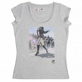 Furygan T-Shirt Dam Shun Grå