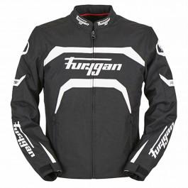 Furygan Textiljacka Arrow Svart/Vit