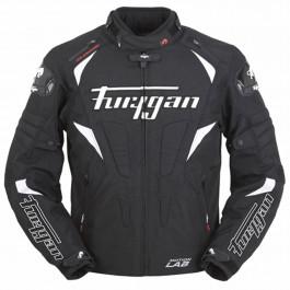 Furygan Textiljacka Wind Svart/Vit
