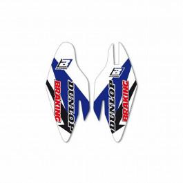 Gaffelben-Skydds Dekal Blackbird Racing
