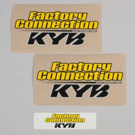 Gaffelbensdekaler KYB Factory Connection