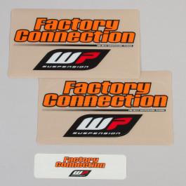 Gaffelbensdekaler WP Factory Connection