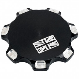GAS CAP UNION JACK BL TRI