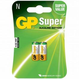 GP Alkalin Batteri Super 910A LR1 N 2 st