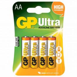 GP Alkaline AA Batteri Ultra 15AU LR6 AA 4 st
