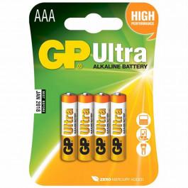 GP Alkaline AAA Batteri 24AU LR03/AAA 4 st