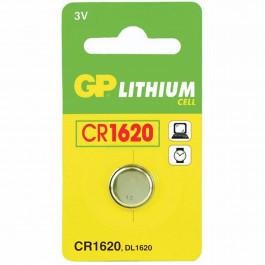 GP Lithium Batteri CR 1620 C1