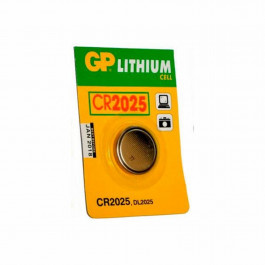 GP Lithium Batteri CR 2025 C1