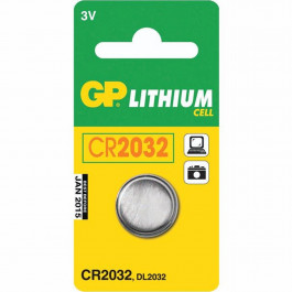 GP Lithium Batteri CR 2032 C1