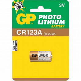 GP Lithium Batteri CR123A U1