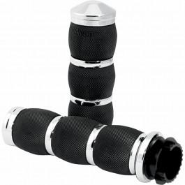 Handtag 3-Ring 22 mm Krom AVON GRIPS