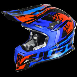 HELMET JUST1 J12 | DOMINATOR BL/RD | SIZE 2XL