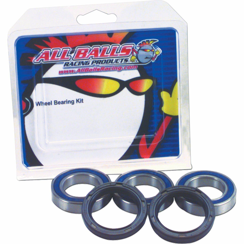 Suzuki GSX-R 750 1989 All Balls Racing Rear Wheel Bearings /& Seals