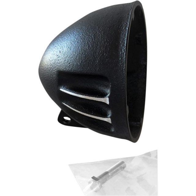 H/LAMP SHELL A BLACK CUT