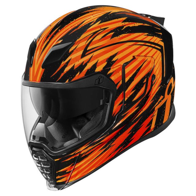 ICON Integralhjälm Airflite Fayder Orange