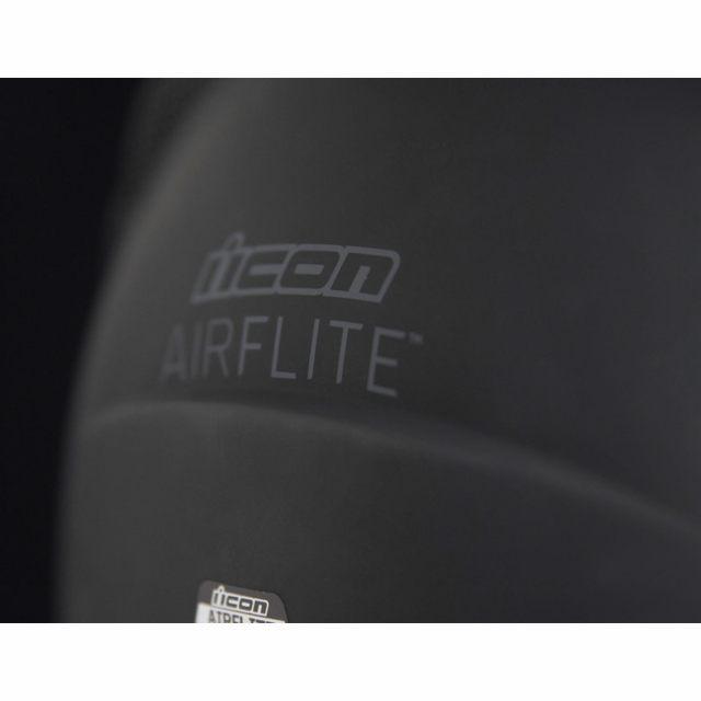 ICON Integralhjälm Airflite Rubatone Svart