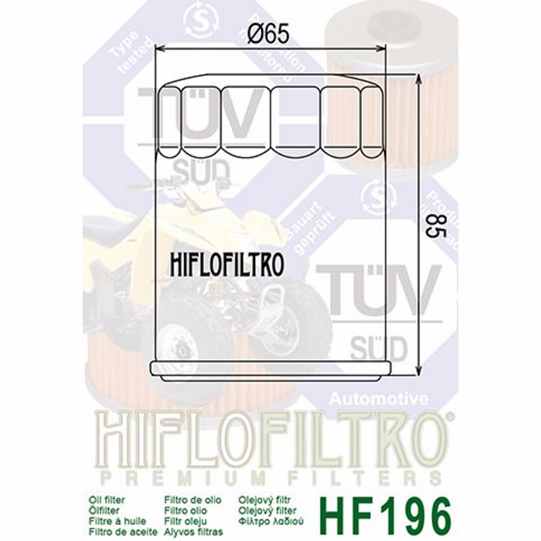 OIL FILTER HF196