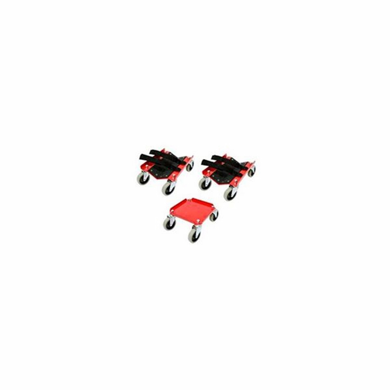 Rullbockssats Röd Sno Pro