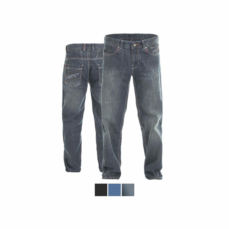 RST Jeans Dam 2200 ARAMID VINTAGE II Short Svart