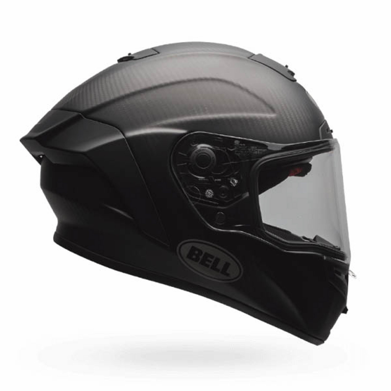 Bell Integralhjälm Race Star Solid Mattsvart