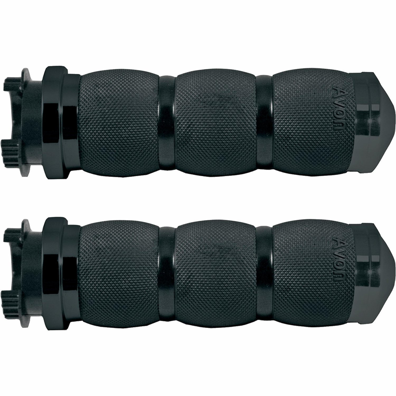 Handtag 3-Ring 25,4 mm Svart AVON GRIPS