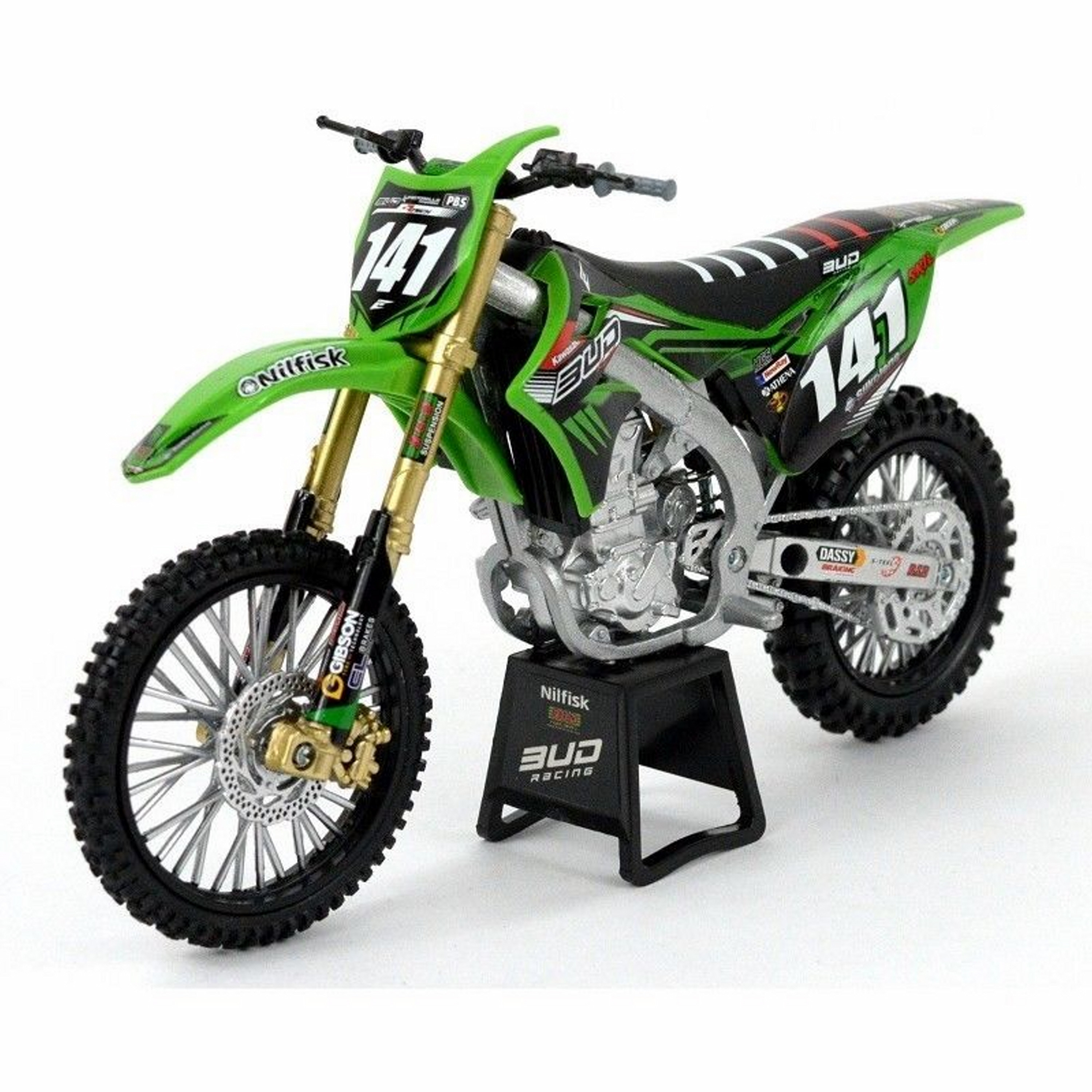New-Ray, 1:12 Kawasaki/ Bud Racing