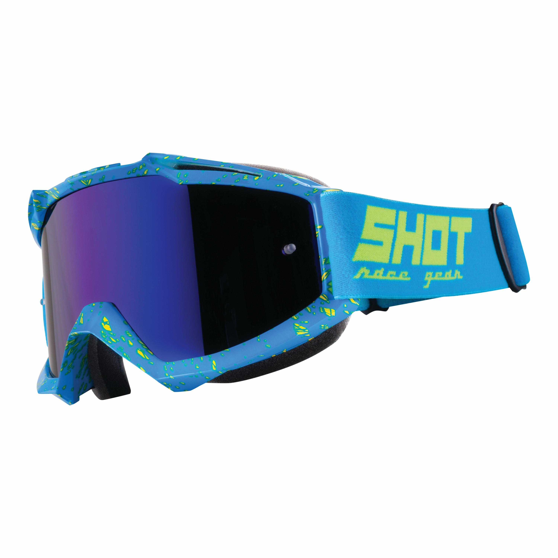 Shot Crossglasögon IRIS SCRATCH 2018 Blå/Neon/Gul