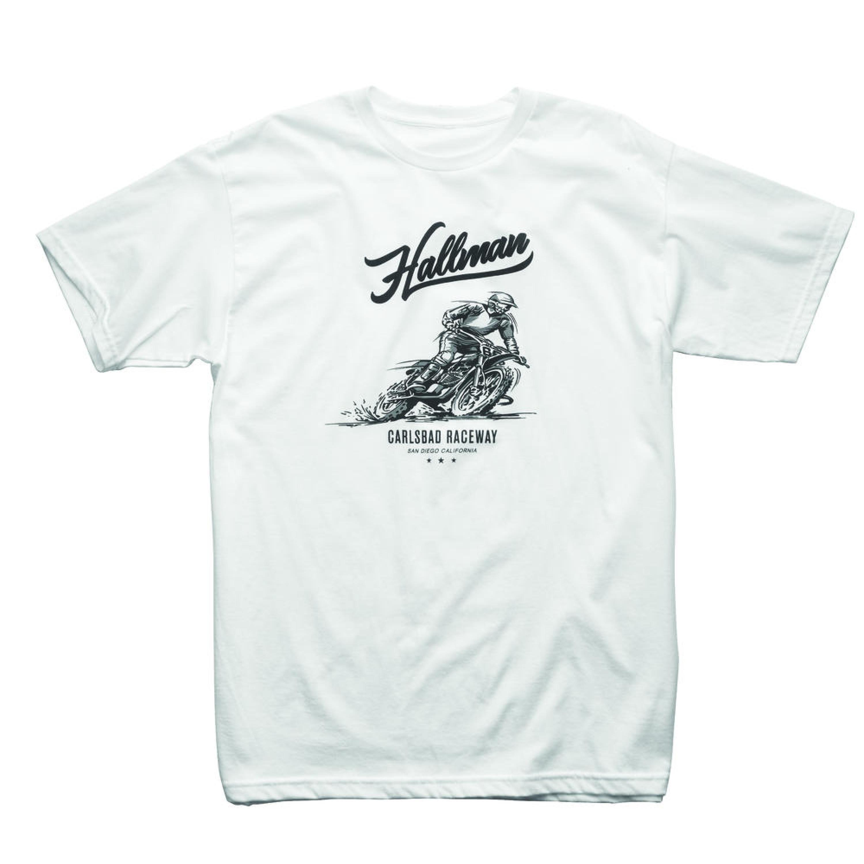 THOR T-Shirt Hallman Carlsbad 2018 Vit