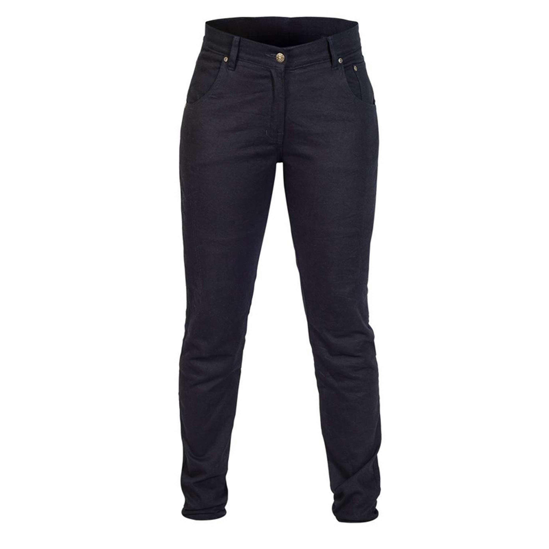 TWICE Jeans Dam Tina Slim Kevlar Svart
