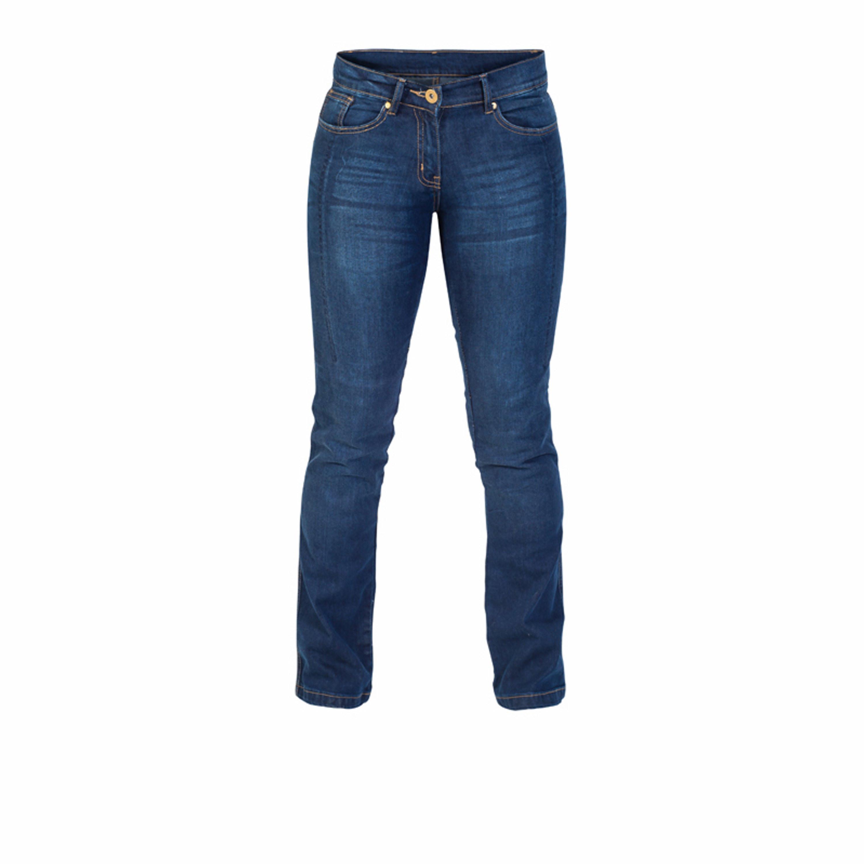 TWICE Jeans Dam Kevlar Blå