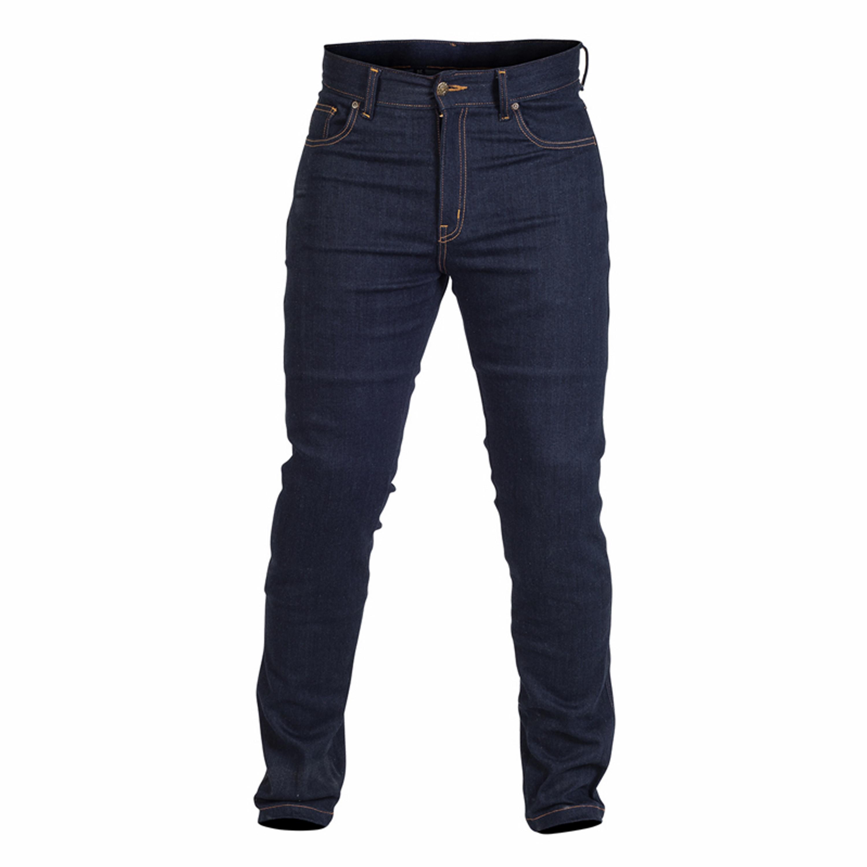 TWICE Jeans Dam Tina Slim Kevlar Blå
