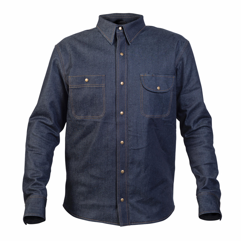 TWICE Jeansskjorta Dusty Kevlar Blå