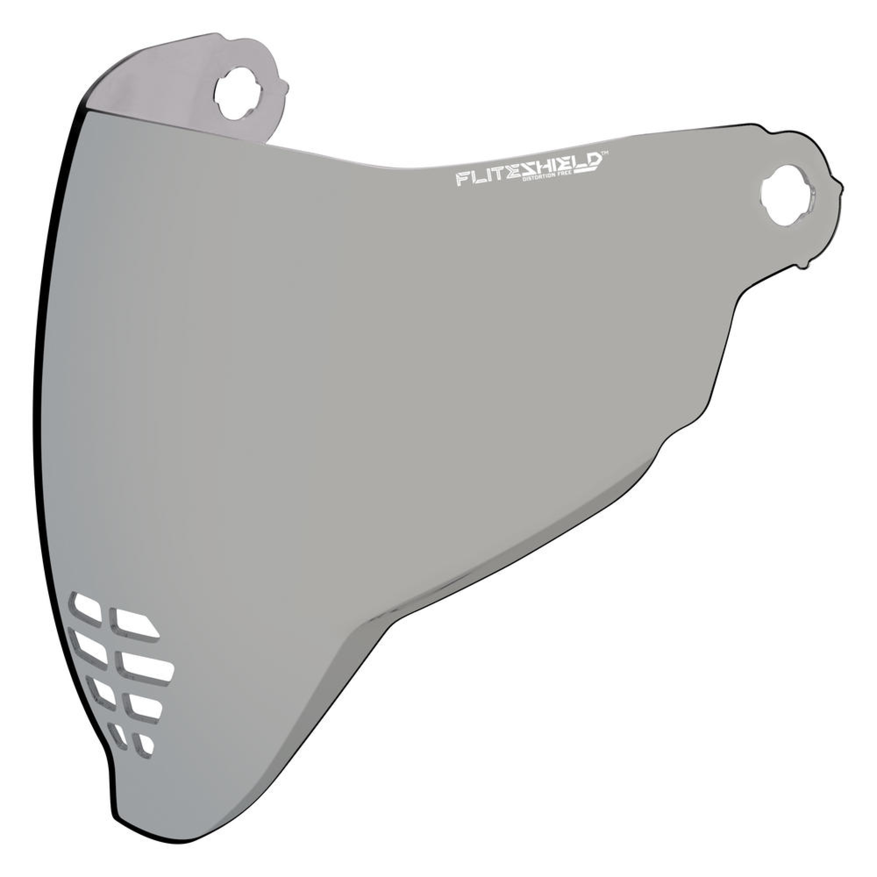 ICON Visir Flite Shield Silver