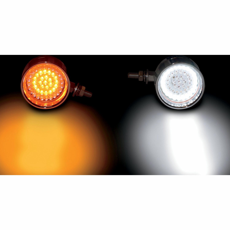LIGHT BULL AMB/WHT CHR