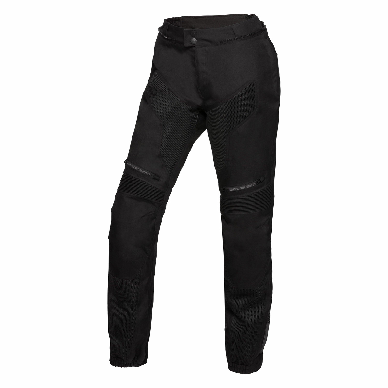 IXS MC-Byxor Dam Kort Sports Pants Comfort-Air Svart