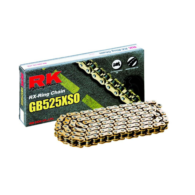 Kedja RK 525 XSO Guld