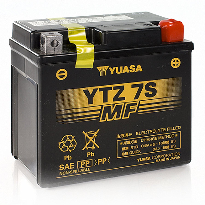 MC Batterier Underhållsfria Yuasa
