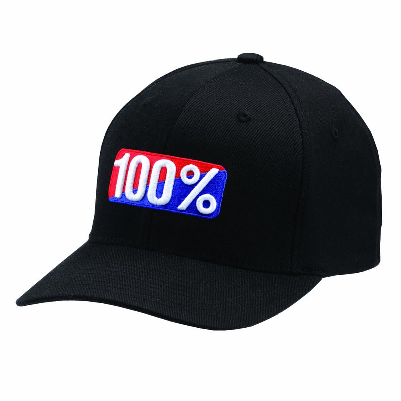 100% Keps OG Flexfit Svart