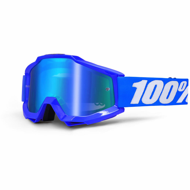 100% Accuri Spegellins Blå
