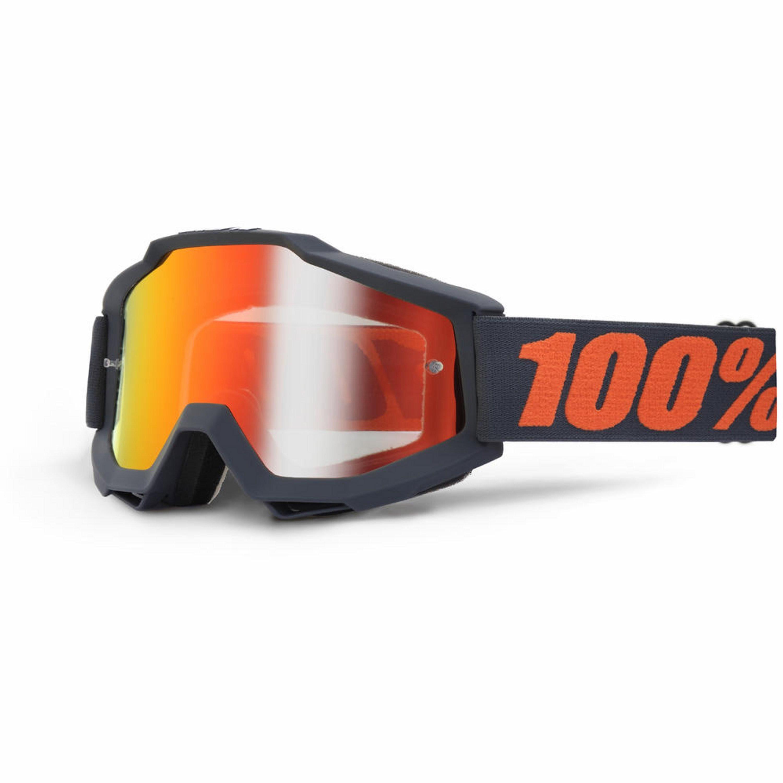 100% Accuri Spegellins Gun Metal