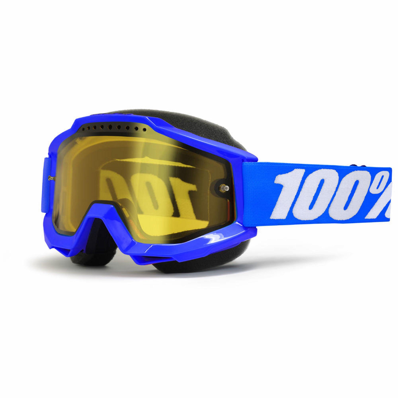 100% Accuri Snow Blå/Gul